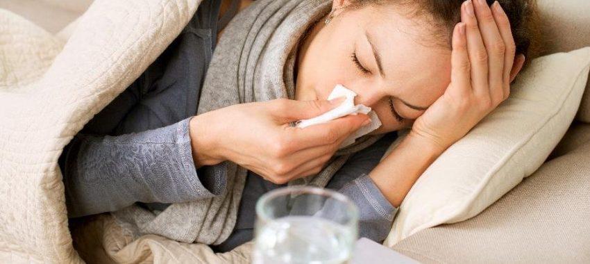 Gripe e falta ao trabalho