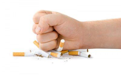 Anti tabaco.